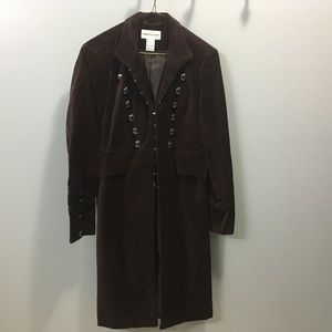 Brown Newport News jacket size 2